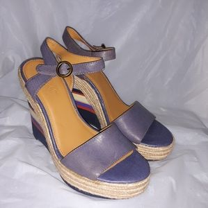 Nine West Vintage Collection Wedge Slippers 7.5